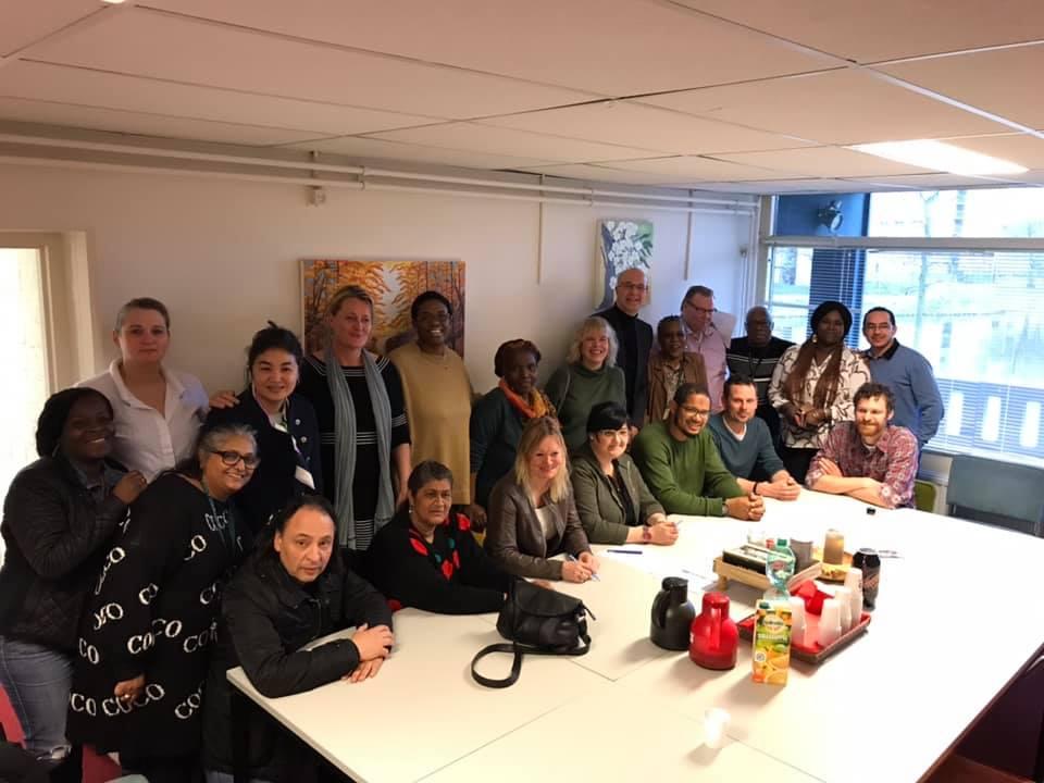 Ondertekenen samenwerkingsovereenkomst 2019 BuurtWerkKamers Amsterdam Zuidoost