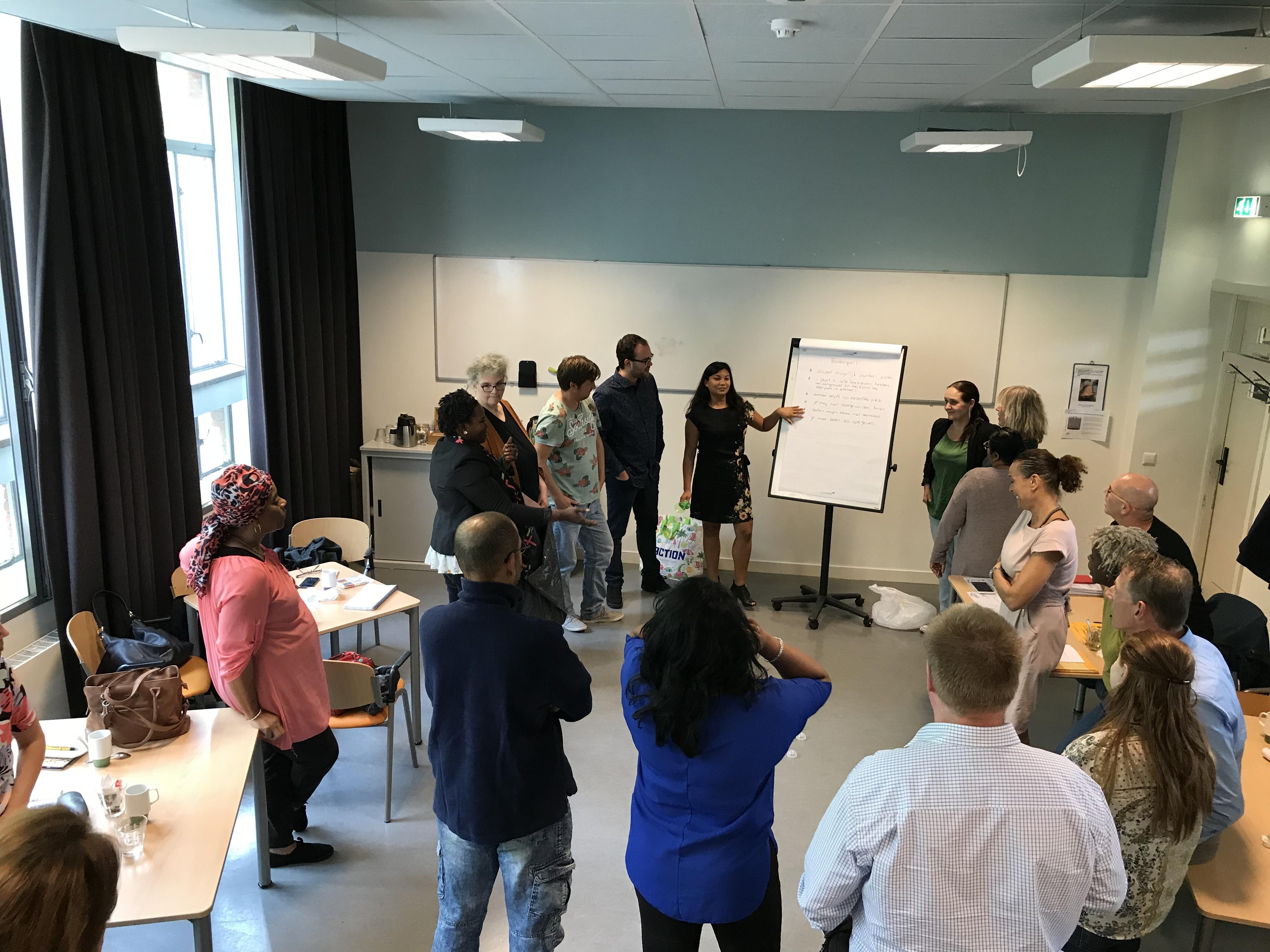 Jaarlijks te houden eerste Heidedag voltallig personeel BuurtWerkKamers