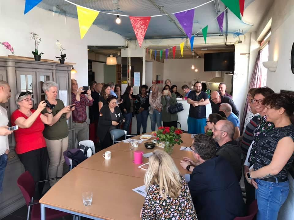 Ondertekening Samenwerkingsafspraak 2019 BuurtWerkKamers Utrecht
