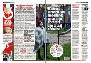 Het nieuwsblad: interview Dayenne Tempo