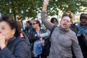 Protestmars BuurtWerkKamers Amsterdam