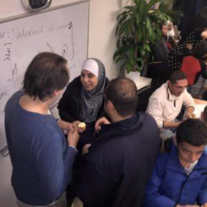 Taal- en conversatieles in Buurtwerkkamer De Handreiking