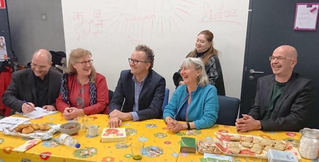 Ondertekening samenwerkingsafspraak voor drie BuurtWerkKamers in Utrecht