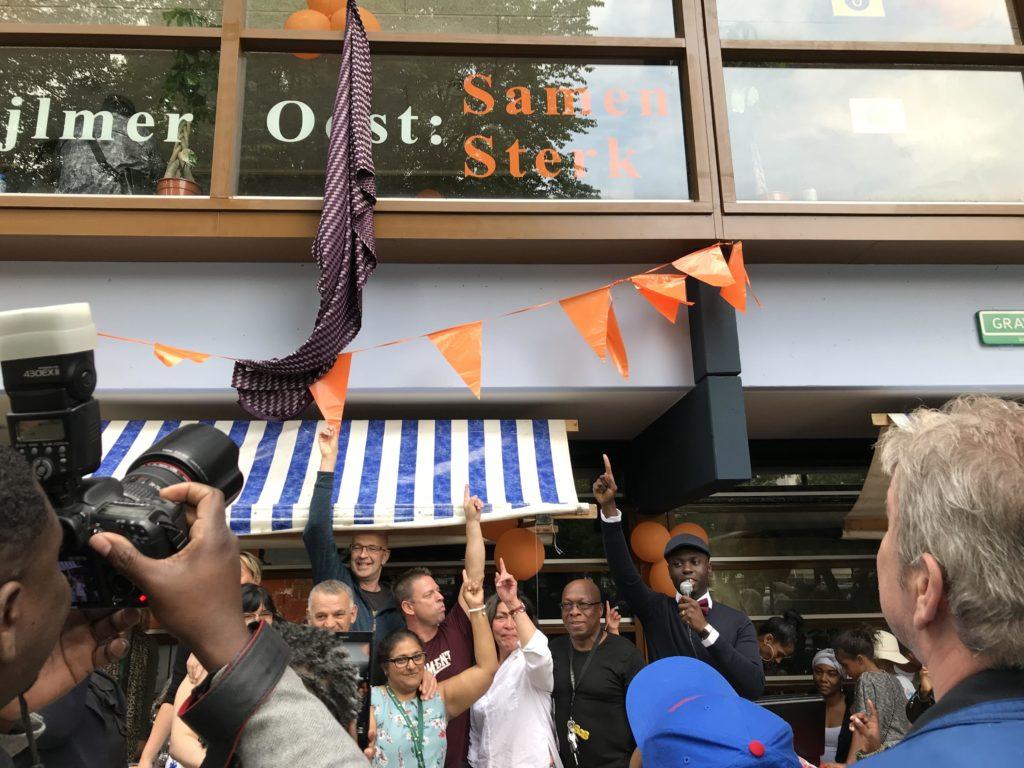 Vierde BuurtWerkKamer in Amsterdam heet Samen Sterk