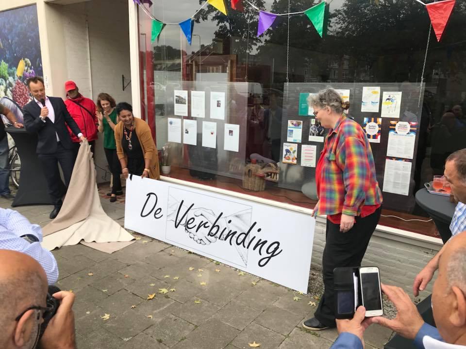 Officiële opening BuurtWerkKamer De Verbinding in Zuilen/Utrecht